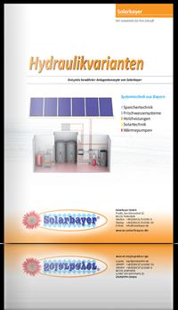 Hydraulikvarianten mit Anlagenschemata