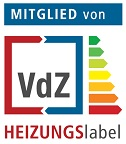 Member of VDZ HEATINGlabel