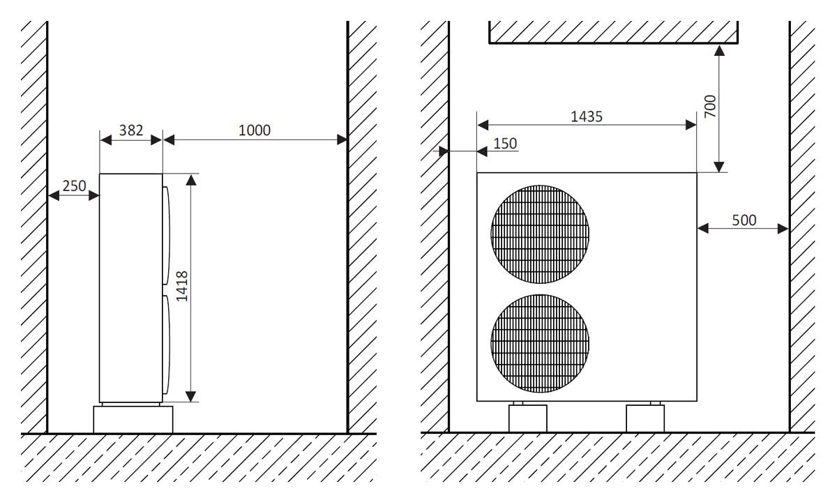 w rmepumpen luft wasser. Black Bedroom Furniture Sets. Home Design Ideas