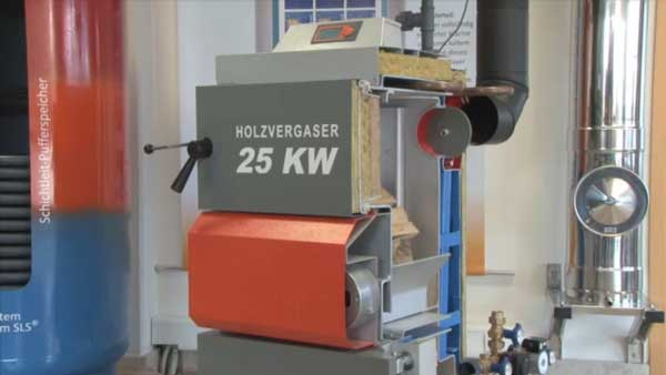Video Holzvergaserkessel HVS